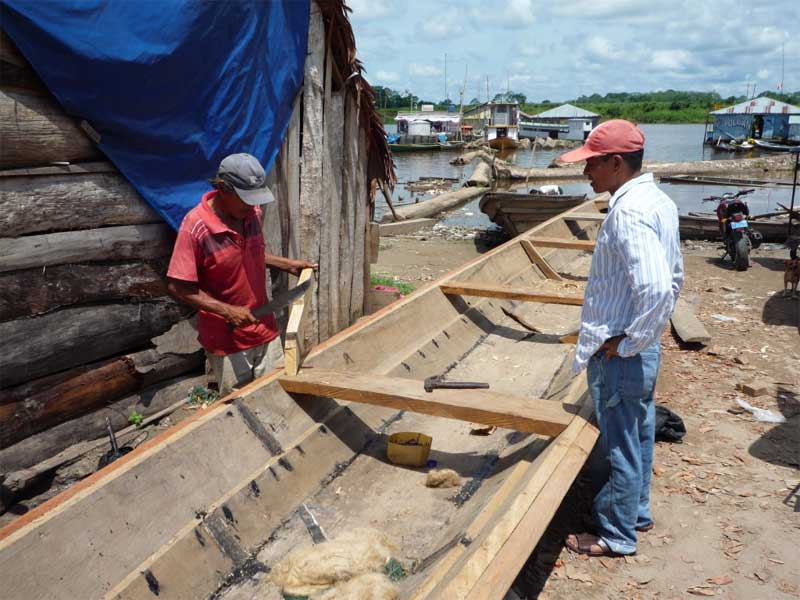 "Jungfernfahrt des Chances for Nature Boots ""Vaca Marina"" auf dem Quebrada Torno"