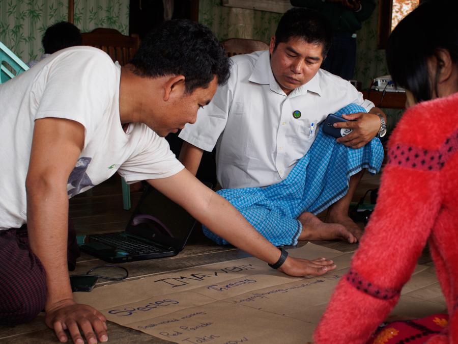 Employee- Training at Indawgyi lake, Myanmar